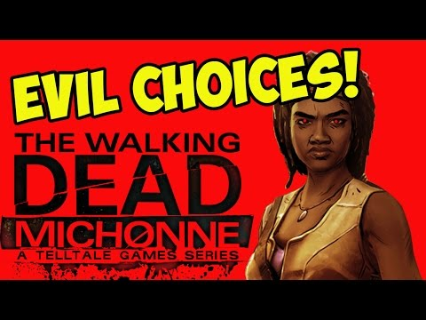 EVIL MICHONNE! The Walking Dead (#1)