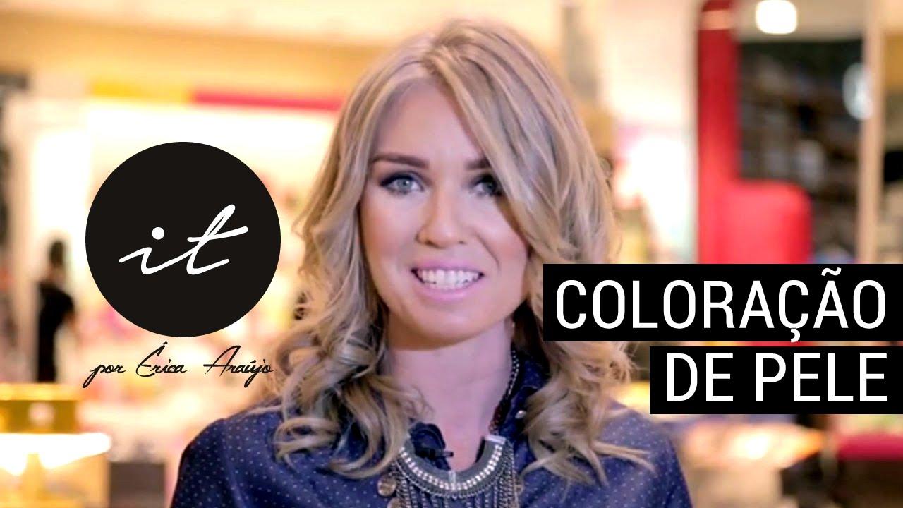 0661fa2c1e6d9 Coloração de pele - Tipos de pele - Tons de pele - Cores de Pele -  Maquiagem - Programa IT - YouTube