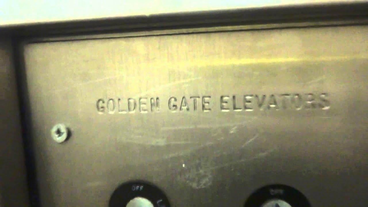 Golden Gate East Elevator   Red Roof Inn   Burlingame, California