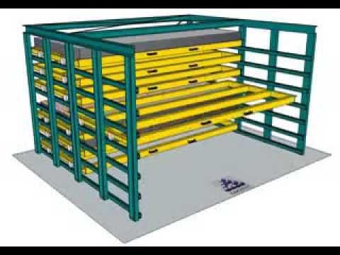 Almacenaje de chapas sistemas manuales combi youtube for Perfiles de estanterias metalicas