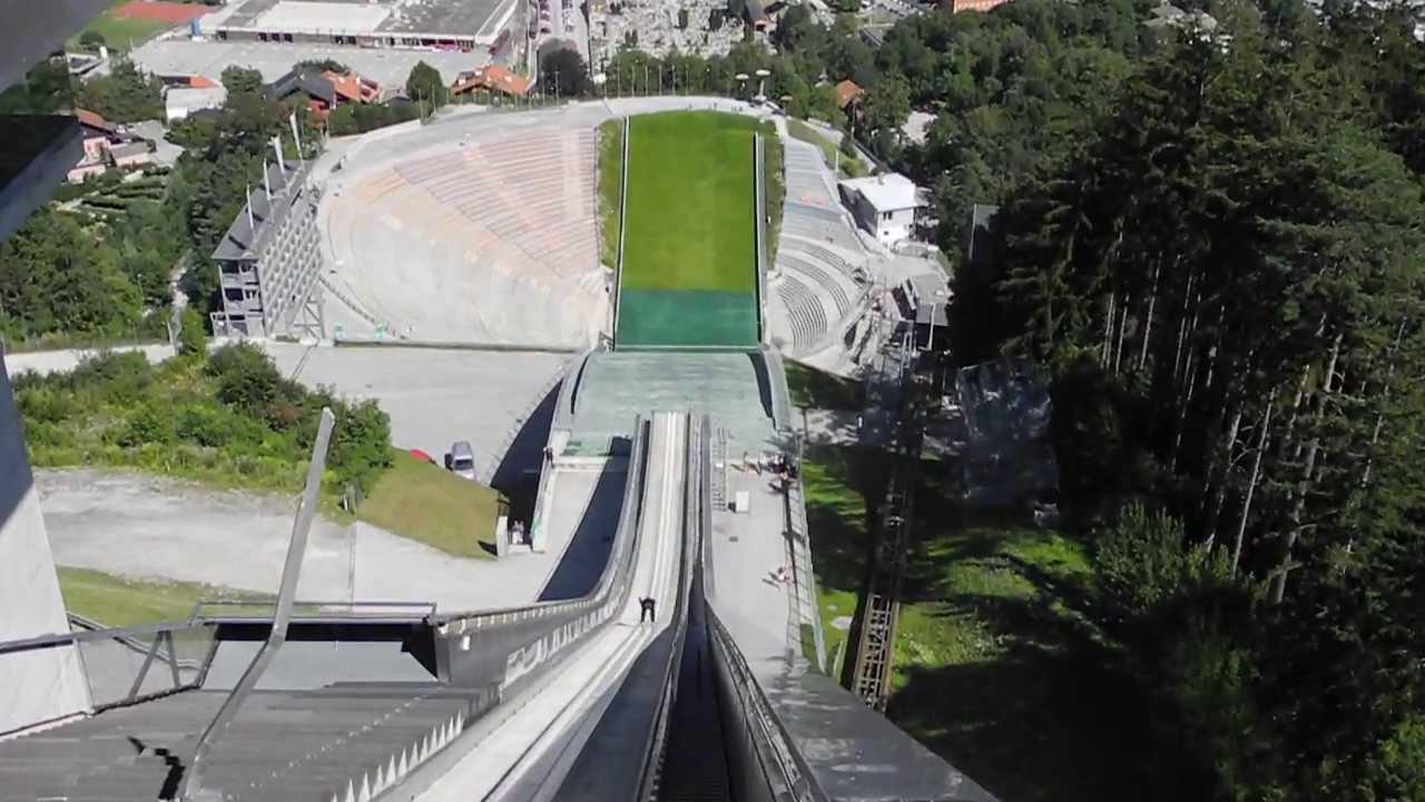 Download Innsbruck - Bergisel Ski Jump - Summer 2013 Trainnings