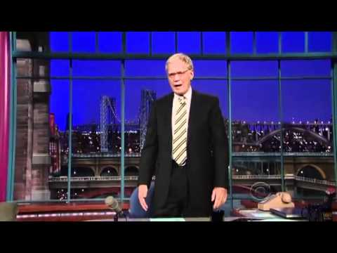 Staff Sgt. Salvatore Giunta on David Letterman (2010.11.24) 2