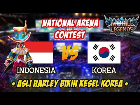 Harley Hero Paling Ngeselin Bikin Korea Ketok Jidad Indonesia vs Korea National Arena Contest 2018