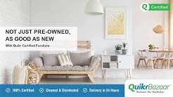 Buy Certified Pre-owned Furniture, only on Quikr