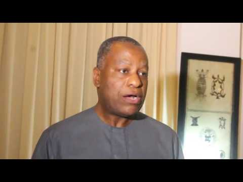 Banjul: Nigeria´s Foreign Minister Onyeama Updates Media on