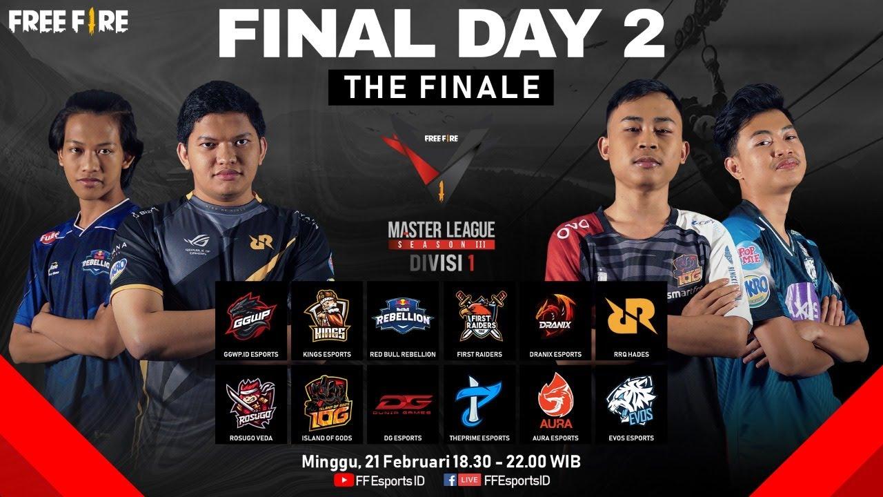 [2021] Free Fire Master League Season III Divisi 1 - Final Day 2