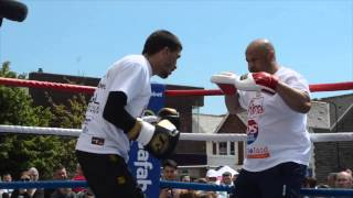 LEE SELBY SHOWS IMPECCABLE TIMING & POWER - PAD WORKOUT / GRADOVICH v SELBY