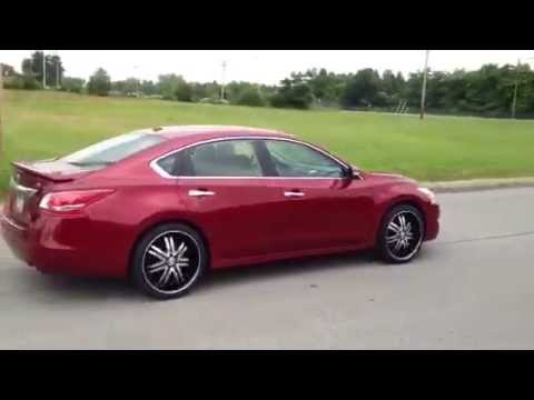 20 Inch Borghini B14 Bentchi Wheels 2013 Altima Youtube