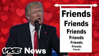 Donald Trump Lists His Many, Many, Many Friends