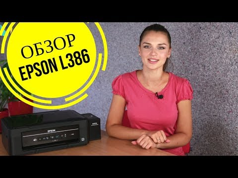 Обзор МФУ Epson L386 с Дариной