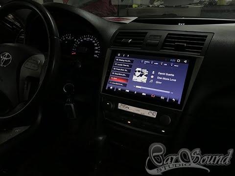 Обзор LEHX - Новая Android 8.1 магнитола в Toyota Camry V40 2008
