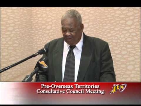 Opening Ceremony Pre Overseas Territories Consultative Council Meeting 2011