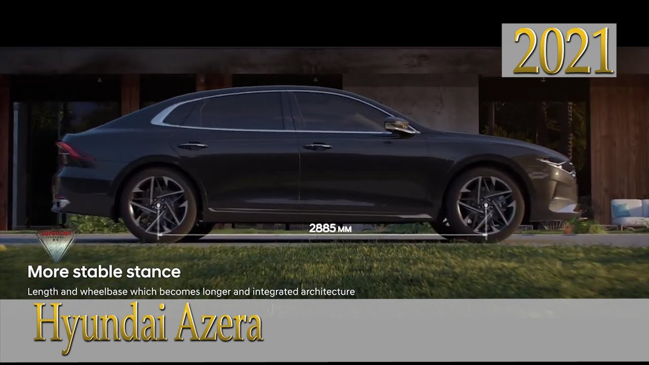 2021 hyundai azera interior exterior highlights and key