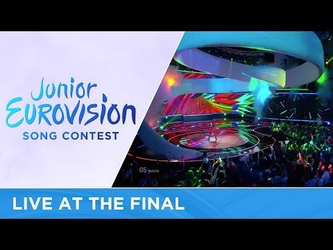 Christina Magrin - Parachute (Malta) LIVE Junior Eurovision 2016