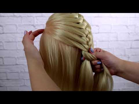 French braid weaving, for beginners