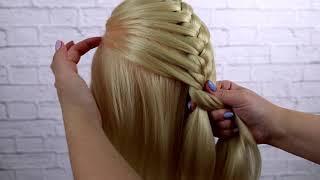 Плетение французской косы, для начинающих