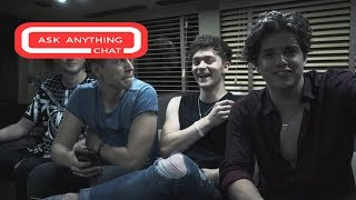 The Vamps Talk About Brad Licking James