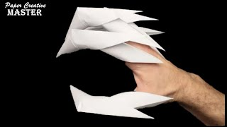 How to make drągon claws out of paper
