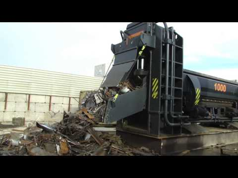 Scrap shear Lefort 1000 T  (TS box)