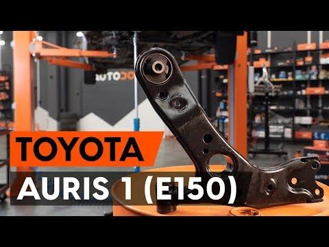 Как заменить передний рычаг подвески TOYOTA AURIS 1 (E150) [ВИДЕОУРОК AUTODOC]