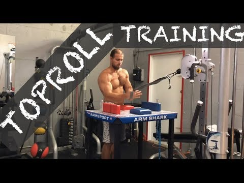 TOPROOLL ARM WRESTLING TRAINING #toproll #armwrestling