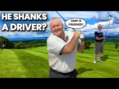DAD AND SON GOLF MONEY MATCH BUT WHO SHANKS THEIR DRIVER?