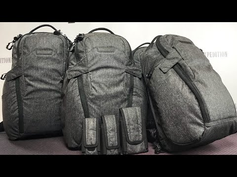 NEW Maxpedition Entity Line: Gray Man, Covert Backpacks, Sling Bags, Messenger Bags