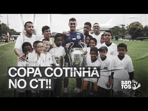 COPA COTINHA NO CT!