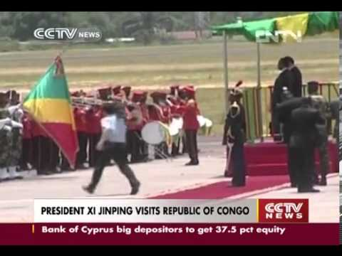 PRESIDENT XI JINPING VISITS REPUBLIC OF CONGO