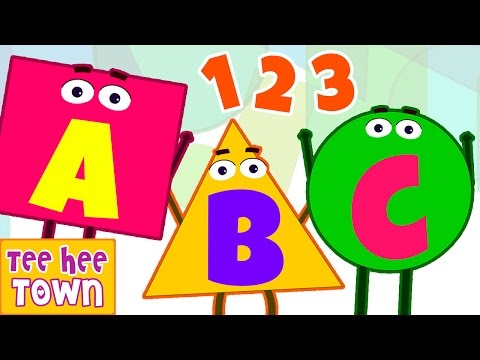 Shapes Song | ABC Alphabet Song | Numbers Song | Popular Nursery Rhymes Collection by Teehee Town