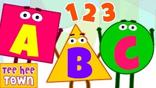ABC Alphabet Song | Numbers Song | Popular Nursery Rhymes Collection by Teehee Town