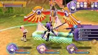 Hyperdimension Neptunia ReBirth 1 PC Gameplay Hraesvelgr,Black Heart [超次次元ゲイム ネプテューヌRe;Birth1]