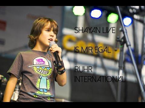 "Shayan live Serc feat. Kazim Akboga "" Is mir egal "" - Jüngster Rapper Ruhr International"