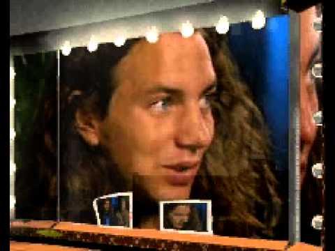 Eddie Vedder backstage at Bob Dylan Anniversary Concert, part 1