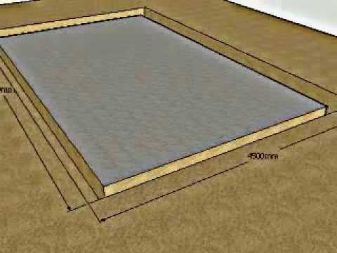 Concrete foundation types youtube for Concrete foundation types
