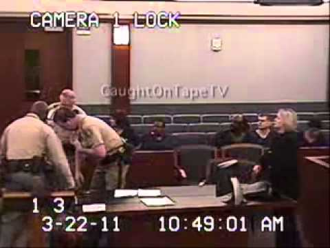 LADY FREAKS OUT AT HER SENTENCING