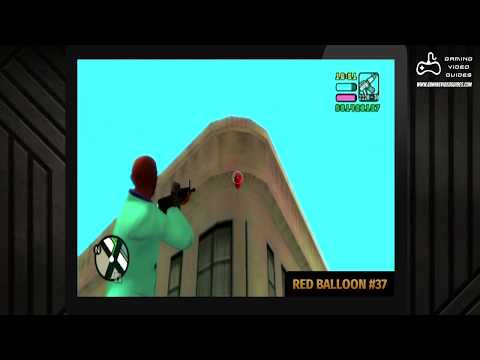 GTA Vice City Stories - All 99 Red Balloons (Location Guide)