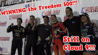 I WON the 2021 FREEDOM 500!!! How did I pull it off????