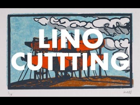 Linocutting - The Artist's Vlog