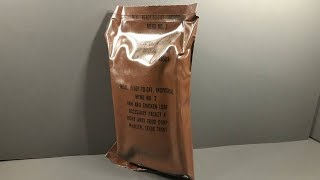 Download Eating 33 Year Old US MRE 1984 Ham & Chicken Loaf Vintage MRE Review Meal Ready to Eat Taste Test Mp3 and Videos