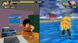 How to make all characters enter inside Kame House (Dragon Ball Z Tenkaichi 3 Broly Glitch)