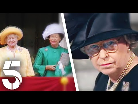 The Queen's Reaction To The Death of Margaret & Her Mother   Elizabeth: Our Queen   Channel 5