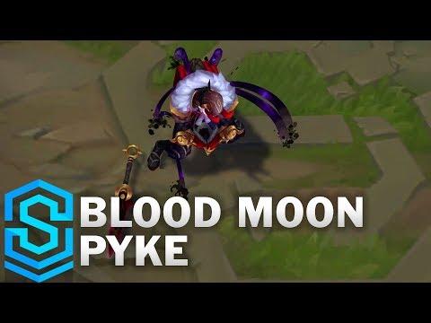 Blood Moon Pyke Skin Spotlight - League of Legends thumbnail