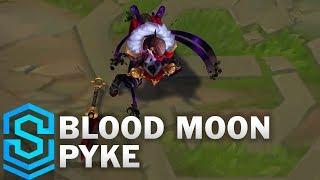 Blood Moon Pyke Skin Spotlight - League of Legends