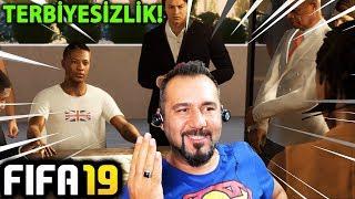 ALEX HUNTER BÜYÜK TERBİYESİZLİK YAPTI! | FIFA 19 YOLCULUK MODU #06