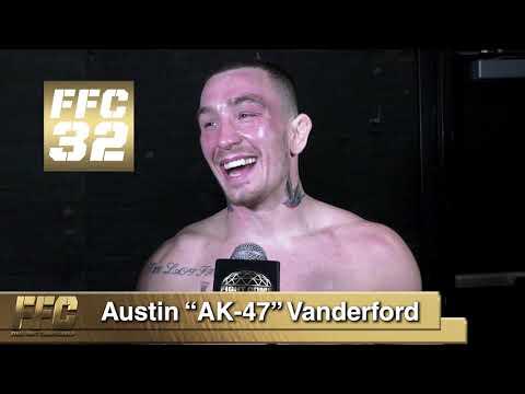 Austin Vanderford FFC 32 Post Fight Interview
