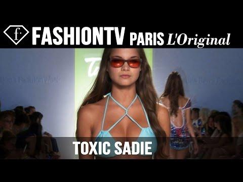Toxic Sadie Swimwear Show | Miami Swim Fashion Week 2015 Mercedes-Benz | FashionTV