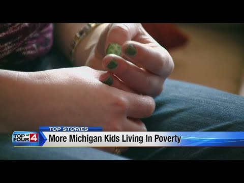 More Michigan kids are living in poverty, according to report