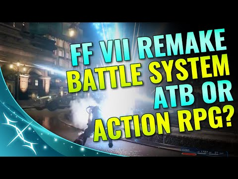 FFVII REMAKE - Battle System - ATB or Action RPG? | TheLifestream.net