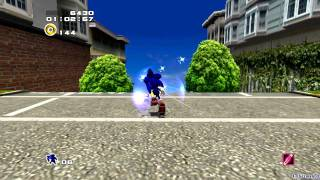 Sonic Adventure 2: Battle - [Hero ~ Part 1 ~ Opening / City Escape / Boss 1 ~ F-6t BIG FOOT]